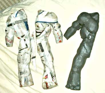 nouvelle armure in progress pour animest Trollmodelage15